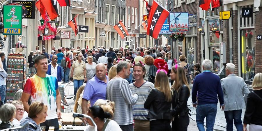 Winkelstraat Amsterdam