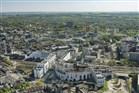 Luchtfoto van het Maankwartier, Heerlen