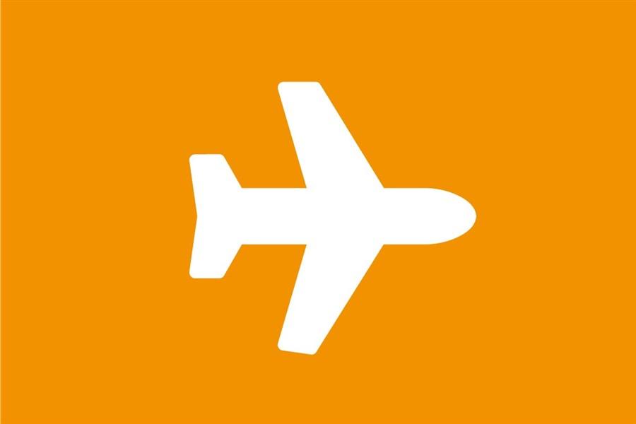 Dit is een plaatje van een vliegtuig