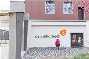 Persoon voor een bibliotheek