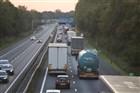 A67 / Eindhoven - Venlo : Bij afslag Geldrop Heeze