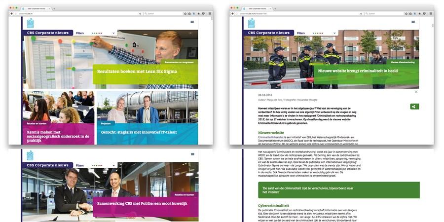 afbeelding van de site corporate nieuws