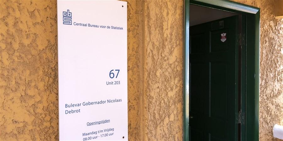 Ingang CBS kantoor Bonaire