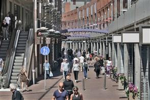 Winkelstraat in Nijmegen