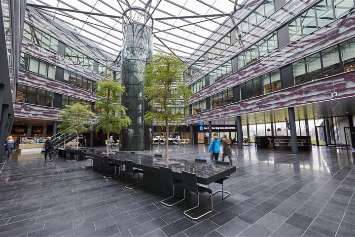 foto van het cbs gebouw