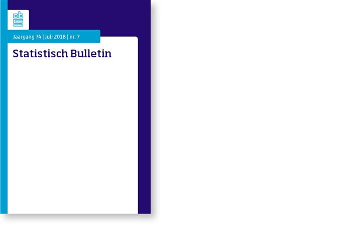 Omslag, Statistisch Bulletin nr. 7 - 2018