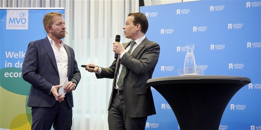presentatie Peter Hein van Mulligen in nieuwspoort