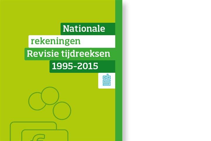 Omslag, Nationale rekeningen Revisie tijdreeksen 1995-2015