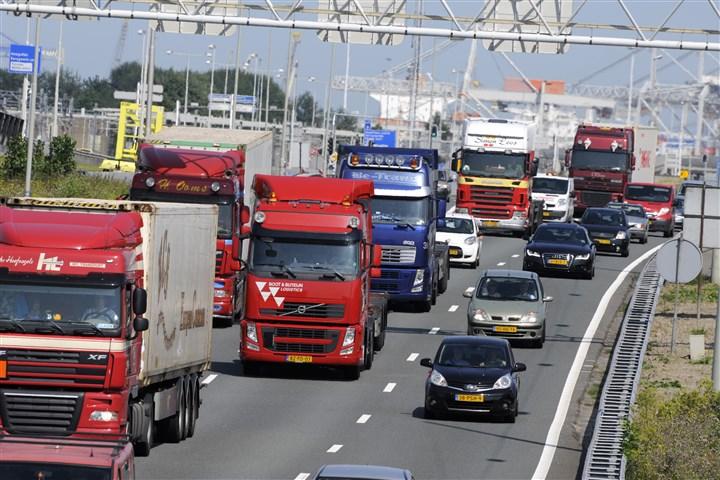 Verkeer op snelweg