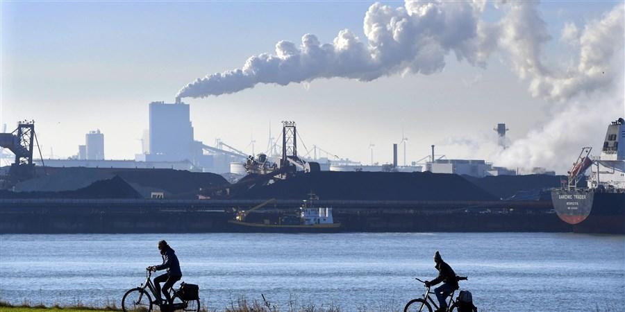 Energiecentrale op Maasvlakte Rotterdam