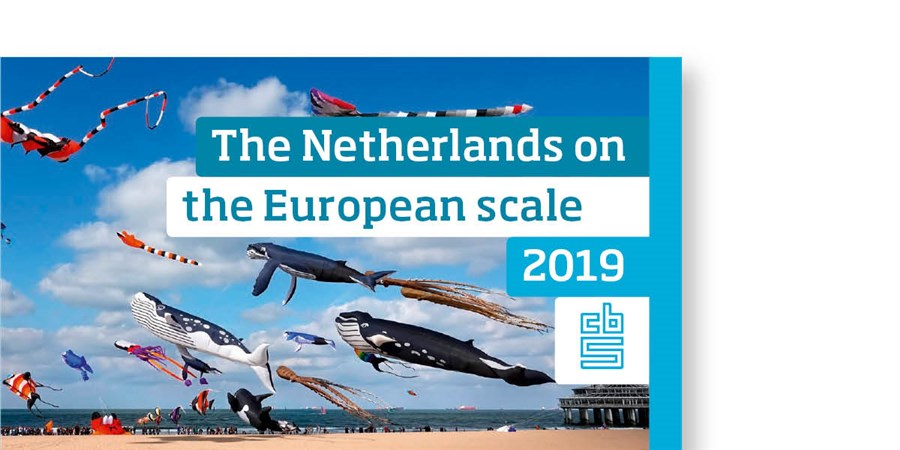 Cover The Netherlands on the European scale 2019
