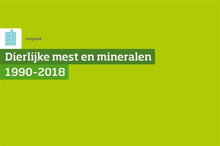Omslag publicatie dierlijke mest en mineralen 2018
