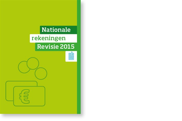 Omslag publicatie Revisie nationale rekeningen 2015
