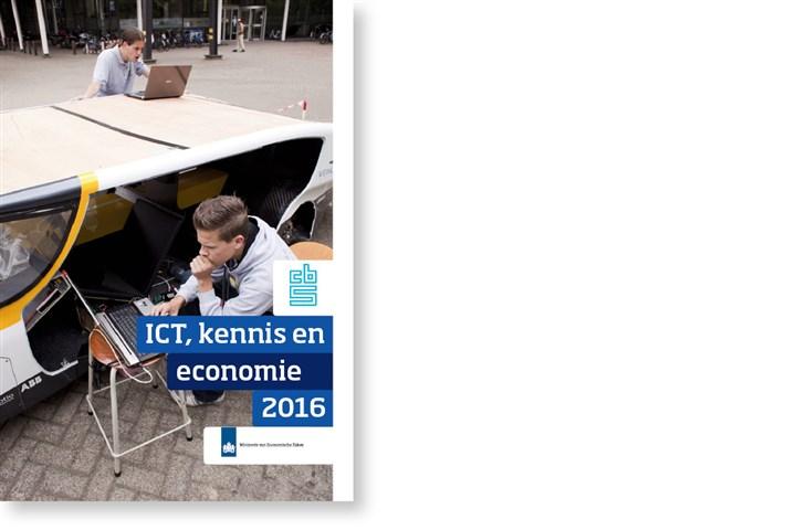 Omslag ICT, Kennis en Economie 2016