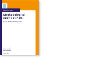 Omslag, Methodological audits at NSIs