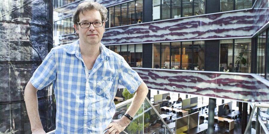Foto van collega Piet Daas