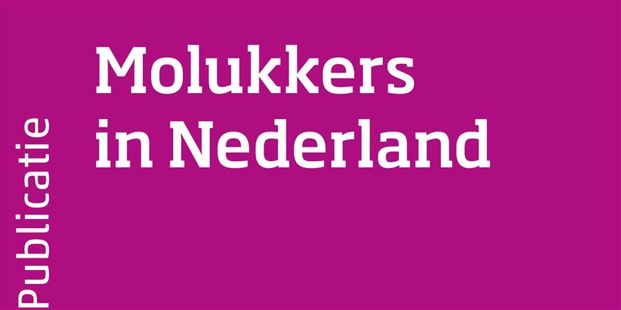 Omslag Molukkers in Nederland