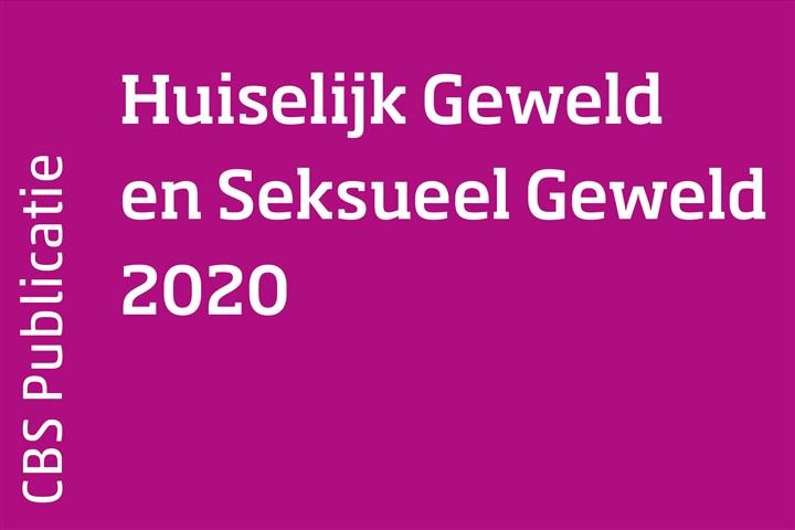 Omslag Huiselijk Geweld en Seksueel Geweld 2020