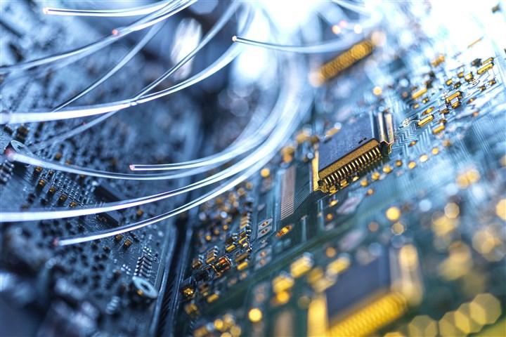 Kabels van een computer