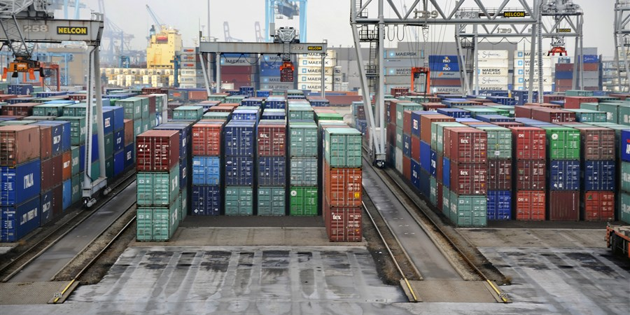 Containers in haven