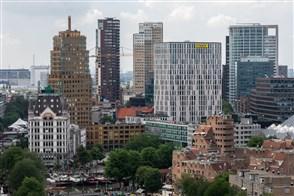 luchtfoto Rotterdam