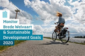 Omslag, Monitor Brede Welvaart & de Sustainable Development Goals 2020