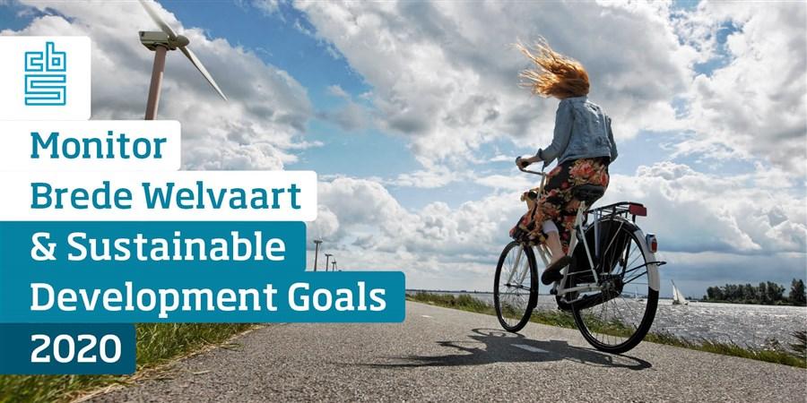 Omslag, Monitor Brede Welvaart & de Sustainable Development Goals 2020