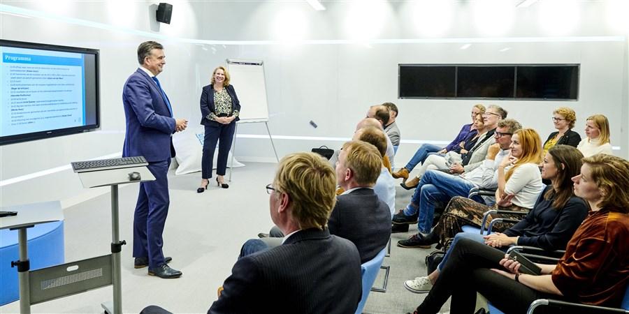 Burgemeester Emile Roemer van Heerlen is één van de sprekers, samen in gesprek over meer datagedreven werken.