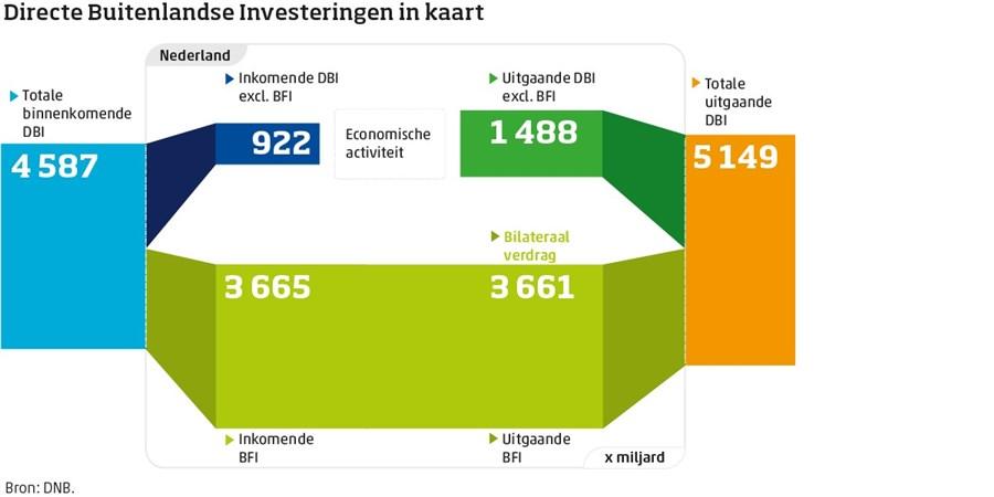 Infographic, Directe Buitenlandse Investeringen in kaart