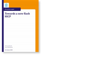 Cover Towards a new flash HICP