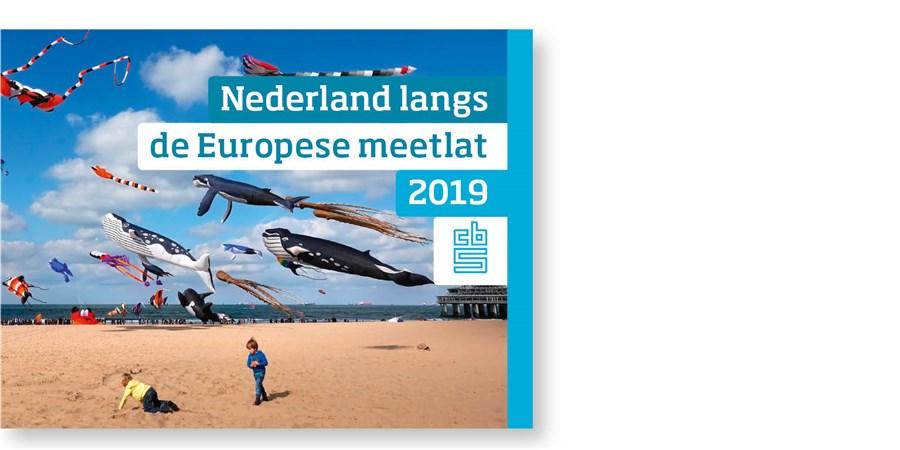 Omslag publicatie Nederland langs de Europese meetlat 2019