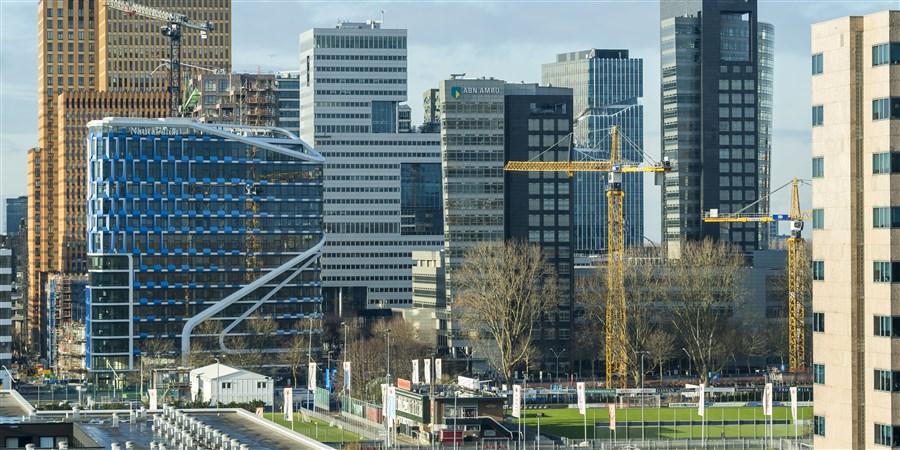 Zuidas (zakendistrict) in Amsterdam