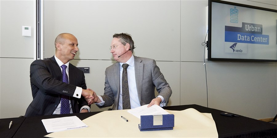 ondertekening Urban Data Center Venlo