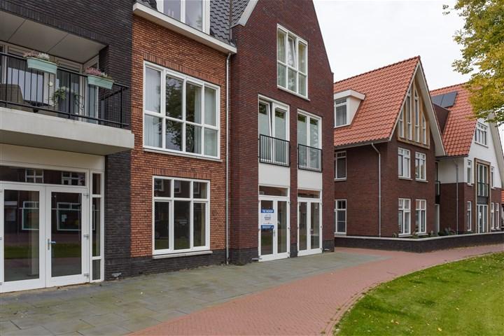 Straat met huizen