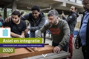 Omslag publicatie Asiel en integratie, 2020  Cohortonderzoek asielzoekers en statushouders