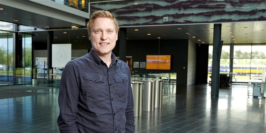 Willem Gielen werkt als statistisch onderzoeker bij het CBS