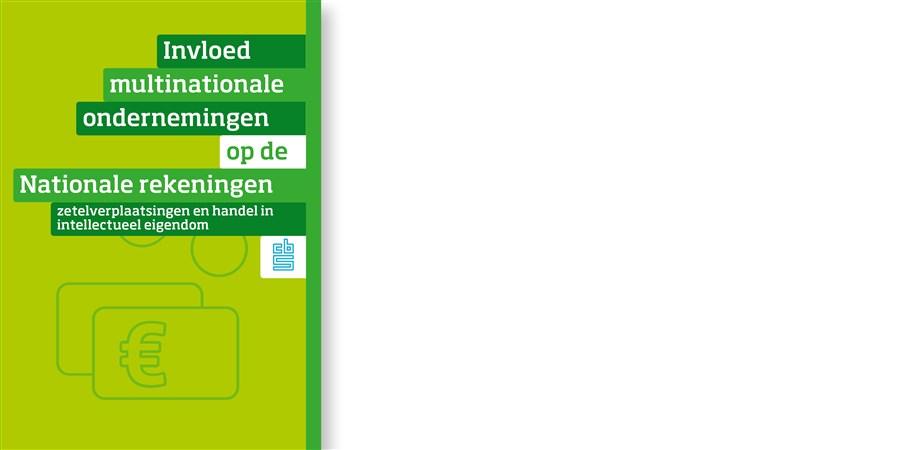 Omslag publicatie Invloed multinationale ondernemingen op de Nationale rekeningen