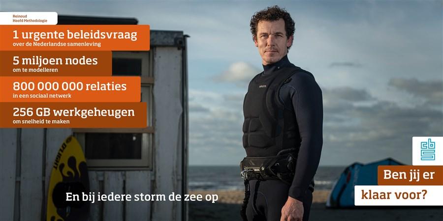 Reinoud Stoel, teamhoofd methodologie Den Haag bij het CBS