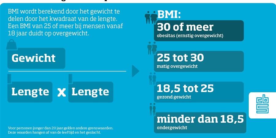 infographic over overgewicht