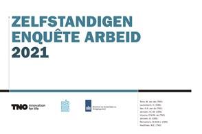 voorpagina Zelfstandigen Enquête Arbeid 2021