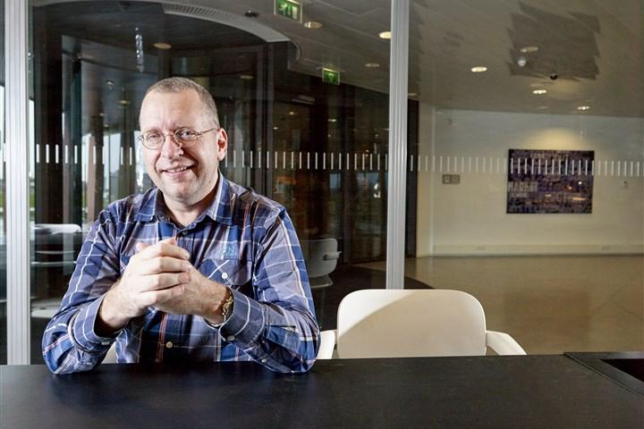 Statistics Netherlands (CBS) researcher Jan-Pieter Smits