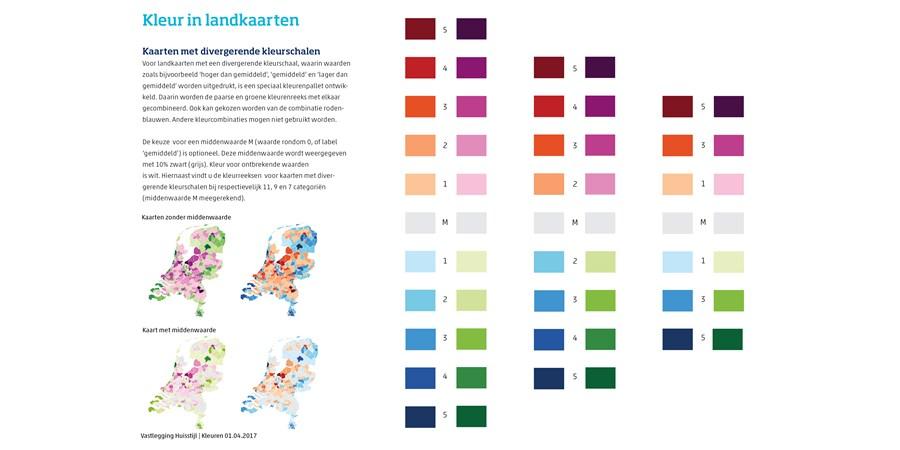 kaarten van kleuren