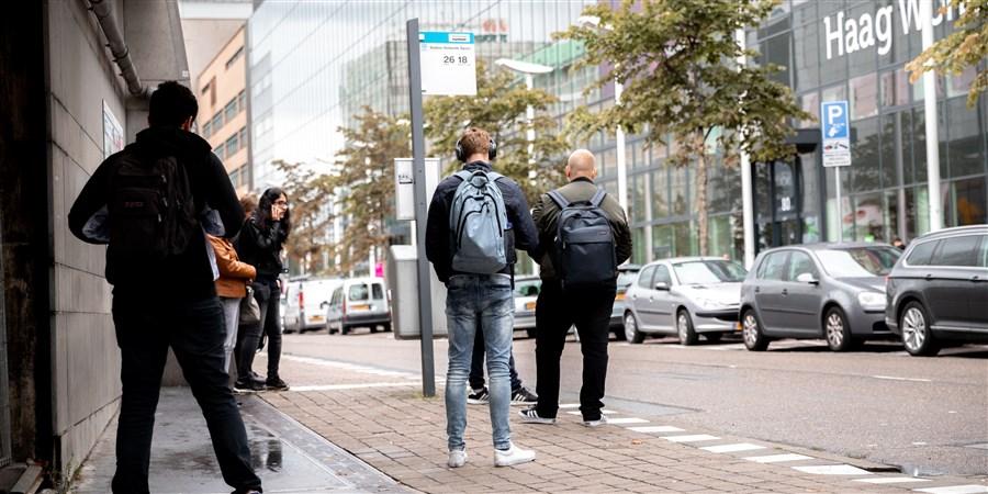 Straatbeeld Den Haag
