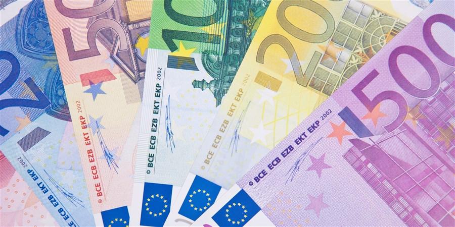 waaier bankbiljetten