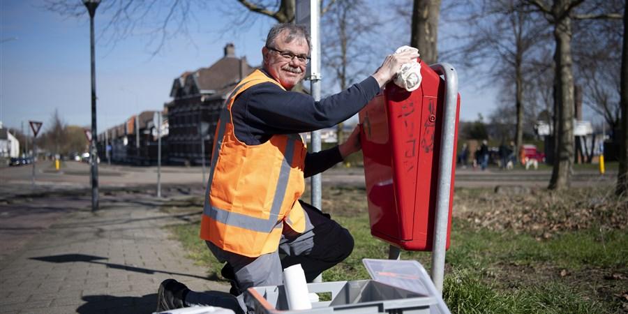 Heerlense burger aan de slag met een klus waarvoor hij een digitale munt ontvangt