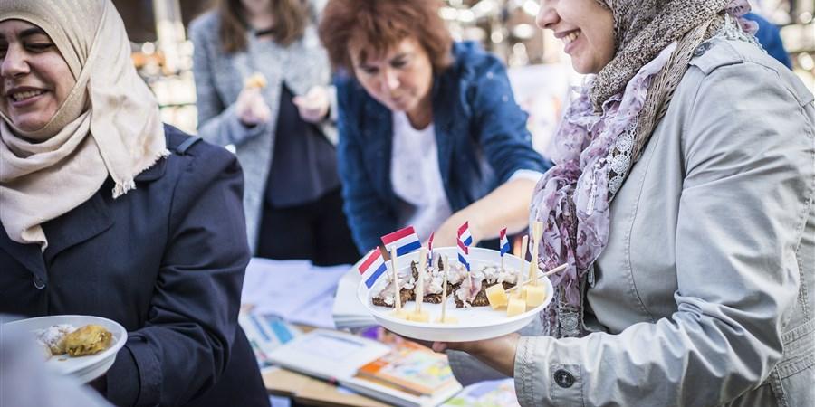 Nederland, Musselkanaal, 24-09-'16; Open Dag asielzoekerscentrum azc Musselkanaal