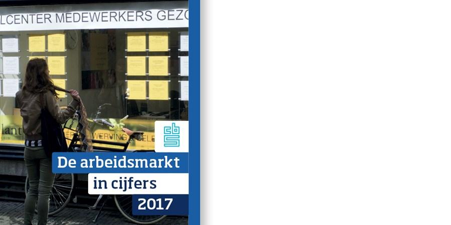 Omslag publicatie 'De arbeidsmarkt in cijfers 2017'