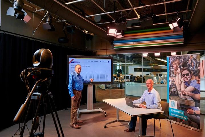 Presentatie gebruikersdag open data In de CBS-studio