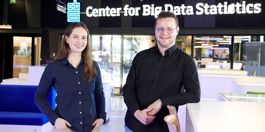 Rik van Roekel en Yvonne Gootzen werken bij het CBS en hebben beiden gestudeerd bij de TU Eindhoven