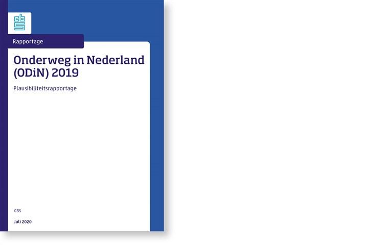Omslag, Onderweg in Nederland (ODiN) 2019, Plausibiliteitsrapportage